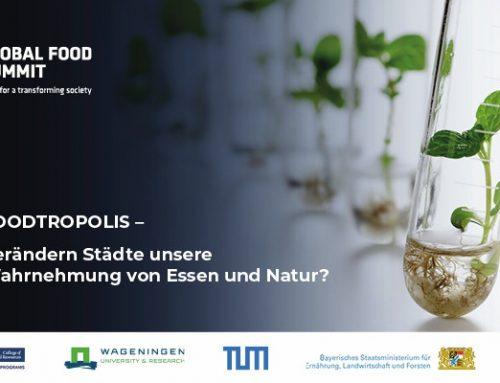 StartinFOOD unterstützt den Global Food Summit im März in München