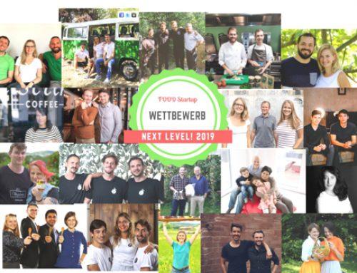 NEXT LEVEL, Runde 1: Crowdfunding Contest Food 2019 erfolgreich beendet