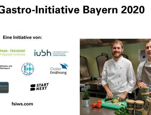 Gastro-Initiative Bayern 2020: Zusätzliches Standbein für die Gastronomie in der Krise