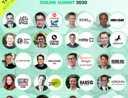 Food & Beverage Innovators Online Summit 2020: Insider-Know-How vom feinsten