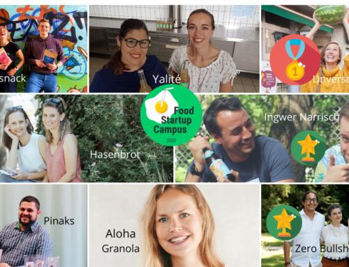 Spiegelei mit Strohhalm: Das war der 1. Food Startup Campus des FSIWS