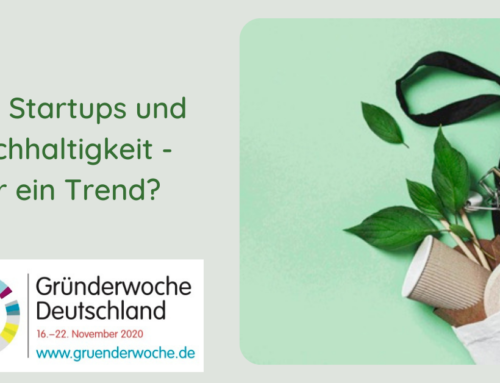 Der FSIWS Live Online Talk: Sustainable. Food. Startups.
